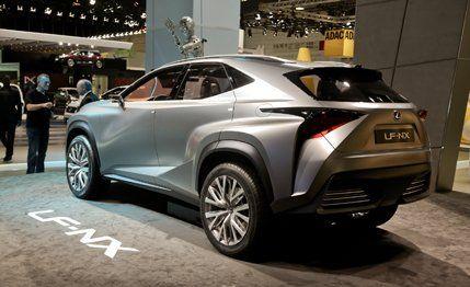 Lexus Lf Nx >> Lexus Lf Nx Concept Photos And Info News Car And Driver