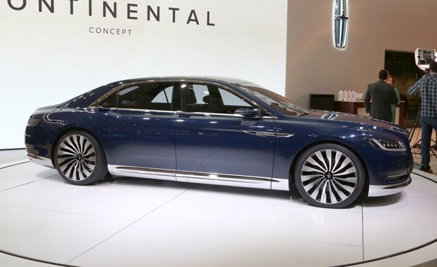 2016 Lincoln Continental Concept >> Lincoln Continental Concept Revealed News Car And Driver