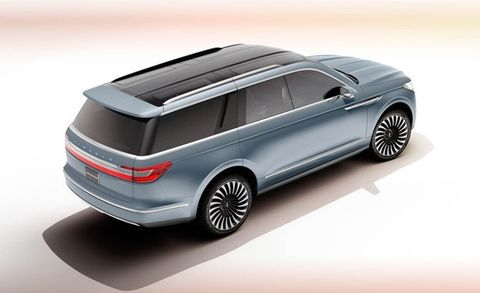 As With The Continental Concept This Navigator Already Has Critics Calling Its Originality Into Question Particularly Respect To Slab Sided Range