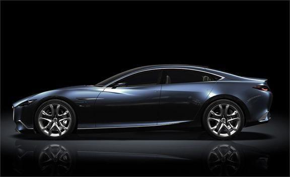 Mazda 6 News Mazda Shinari Concept Previews Next Mazda 6  Car