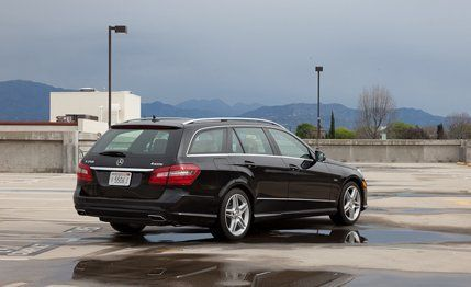 2012 mercedes-benz e350 4matic wagon instrumented test - review