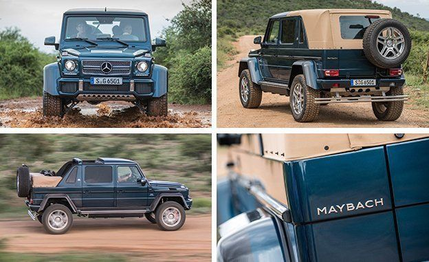 2018 mercedes maybach g650 landaulet | best new cars for 2018