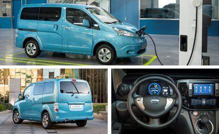 Nissan E NV200 Electric Van Photos And Info