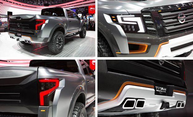 Nissan Titan Warrior Concept Photos And Info News Car And Driver