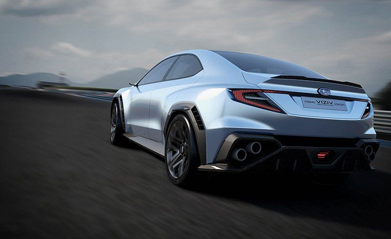 Subaru Viziv Performance Concept Previewing The Next Wrx News