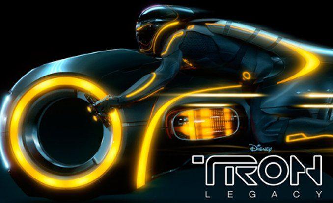 Tron legacy cars