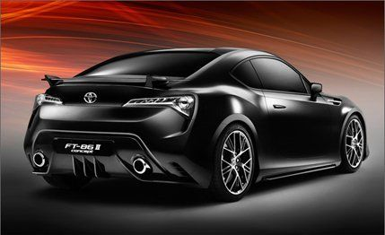 Toyota Ft 86 >> Toyota Ft 86 Ii Concept News Car And Driver