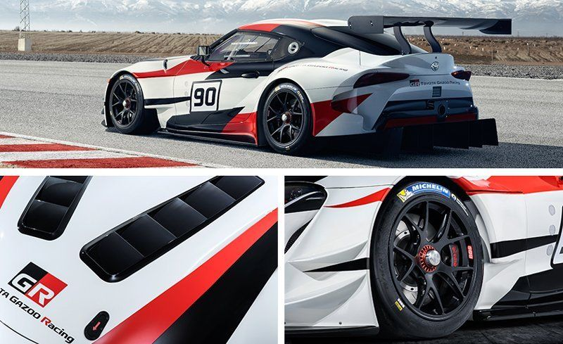 Toyota GR Supra Racing Concept: The Supra Is Officially Back! | News | Car  And Driver