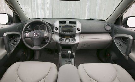 Toyota rav4 limited 4wd v 6 road test car and driver view 25 photos sciox Gallery