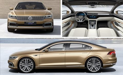 And It Is Also Ger Than Vw S Geneva Concept Which Was Based On The Modular Transversal Mqb Platform Foreshadows Next Generation Cc