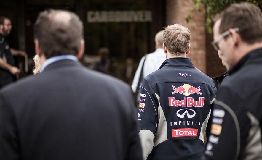 Sebastian Vettel and Christian Horner visit Car and Driver - Slide 3