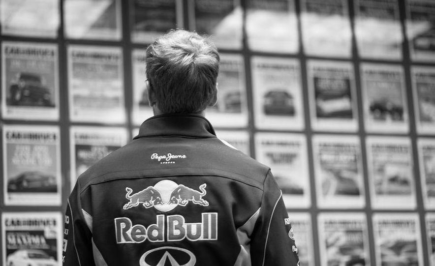 Sebastian Vettel and Christian Horner visit Car and Driver - Slide 5