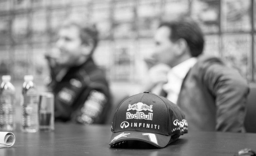 Sebastian Vettel and Christian Horner visit Car and Driver - Slide 11