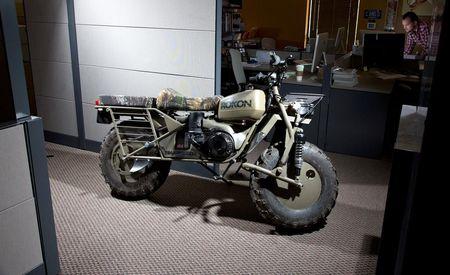 Stuff We Drove in the Office: Rokon Trail-Breaker 2WD Motorcycle