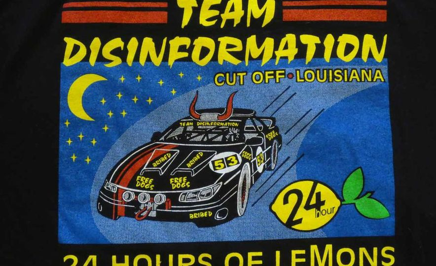 Five Years of Awesome Custom Team Shirts from 24 Hours of LeMons - Slide 12