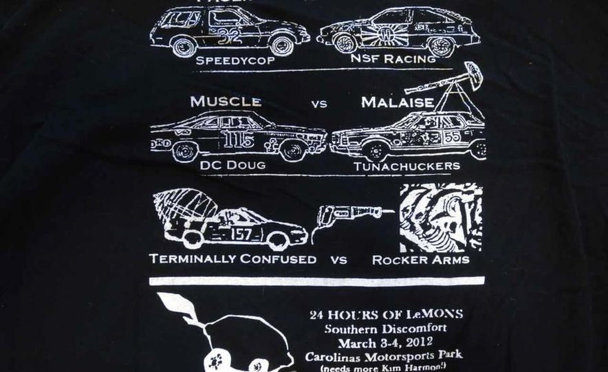Five Years of Awesome Custom Team Shirts from 24 Hours of LeMons - Slide 20