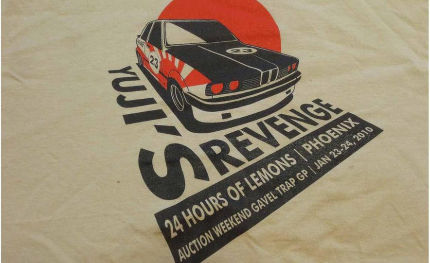 Five Years of Awesome Custom Team Shirts from 24 Hours of LeMons - Slide 25