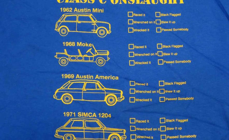 Five Years of Awesome Custom Team Shirts from 24 Hours of LeMons - Slide 33
