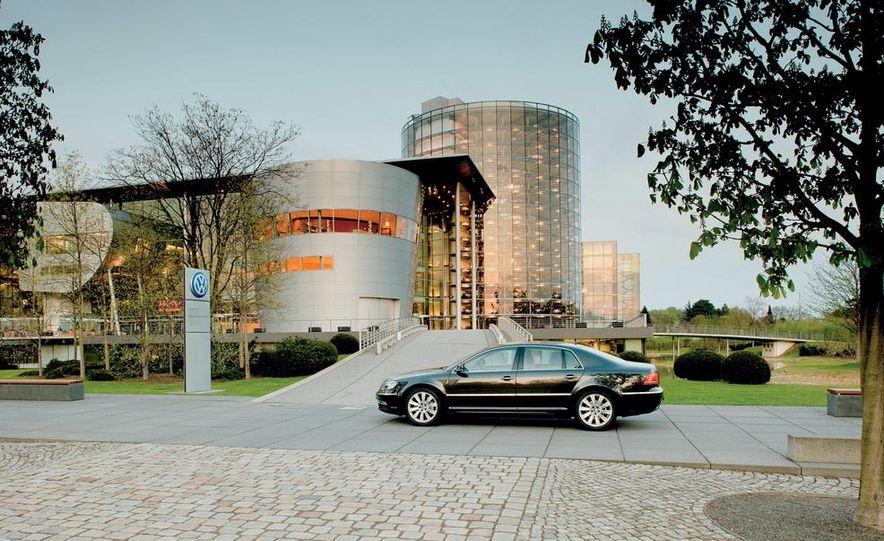 Volkswagen Golf blue-e-motions at the Volkswagen transparent factory, In Dresden, Germany. - Slide 6