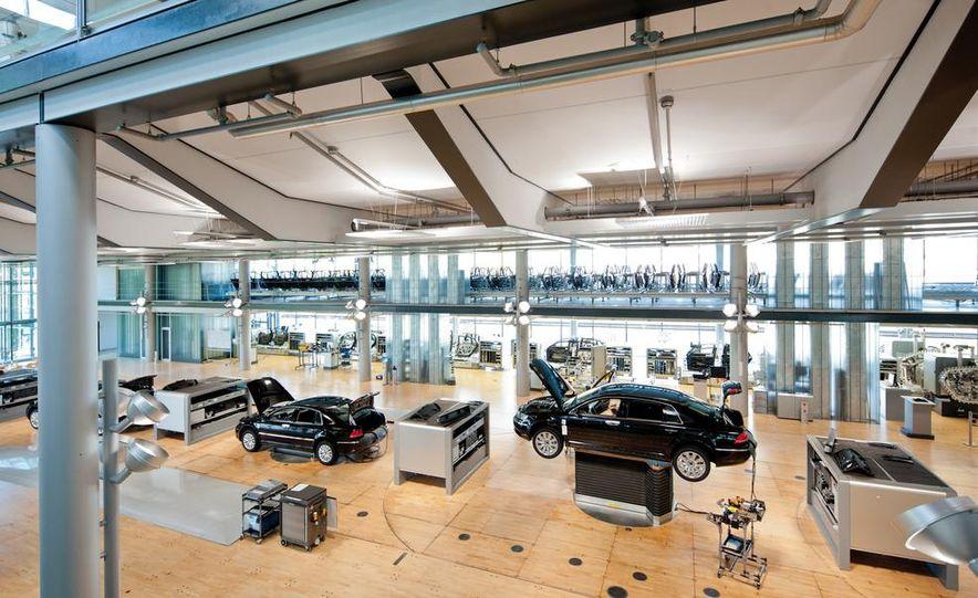 Volkswagen Golf blue-e-motions at the Volkswagen transparent factory, In Dresden, Germany. - Slide 25