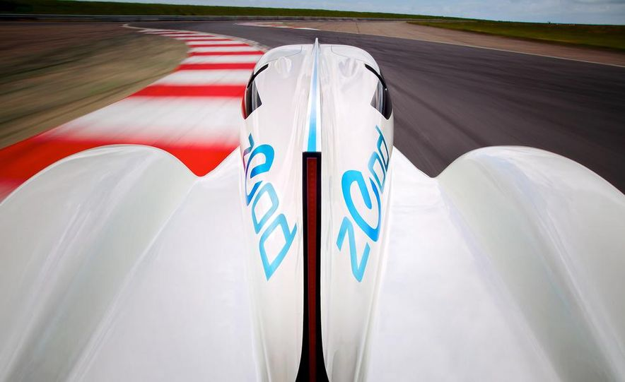 Nissan ZEOD race car - Slide 6