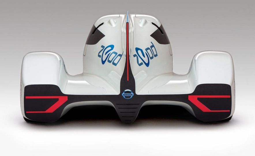 Nissan ZEOD race car - Slide 9