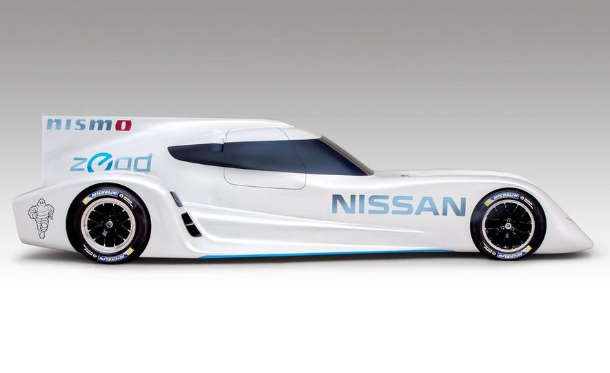 Nissan ZEOD race car - Slide 10