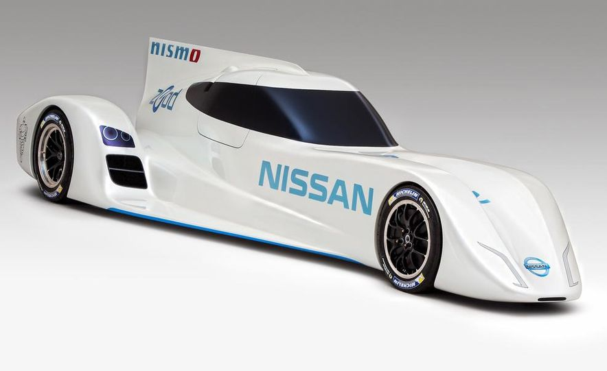 Nissan ZEOD race car - Slide 11