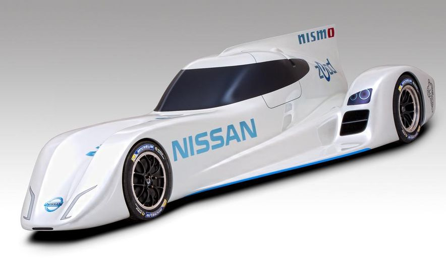 Nissan ZEOD race car - Slide 12