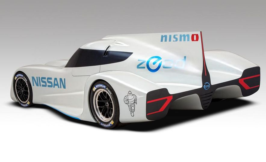Nissan ZEOD race car - Slide 13