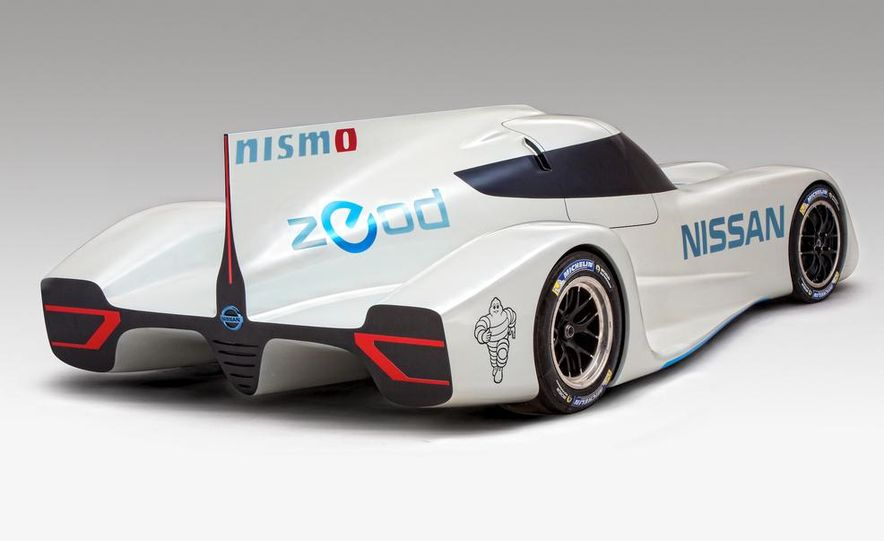 Nissan ZEOD race car - Slide 14