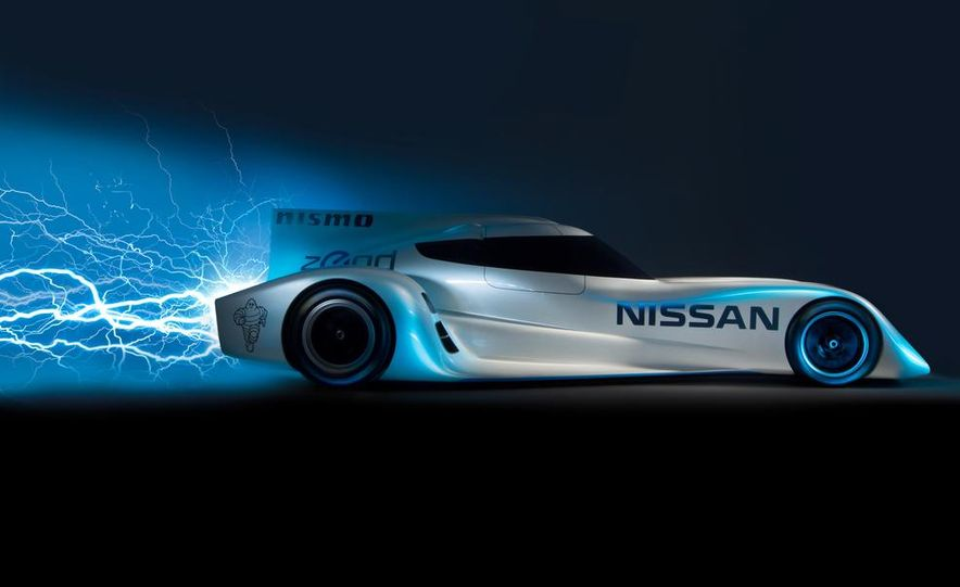 Nissan ZEOD race car - Slide 16