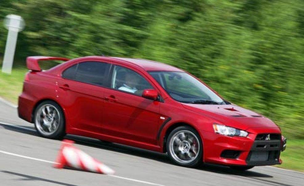 2008 mitsubishi lancer evolution gsr photo gallery car and driver
