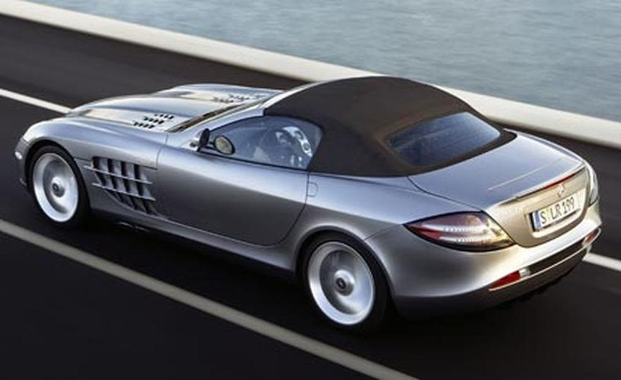 2008 Mercedes-Benz McLaren SLR roadster - Slide 1