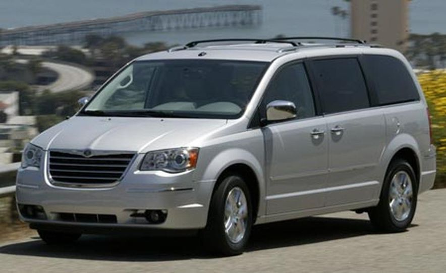 2008 Chrysler Town Amp Country Pictures Photo Gallery Car