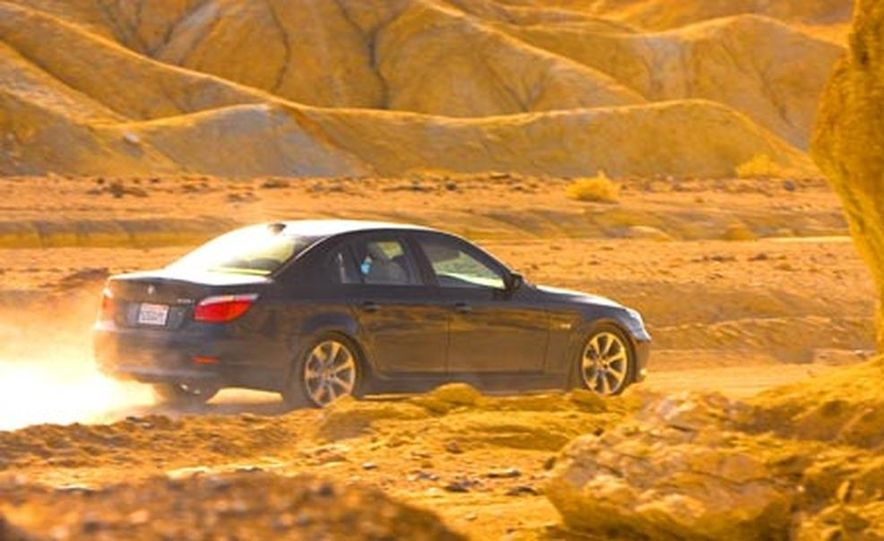 2008 BMW 5-series - Slide 17