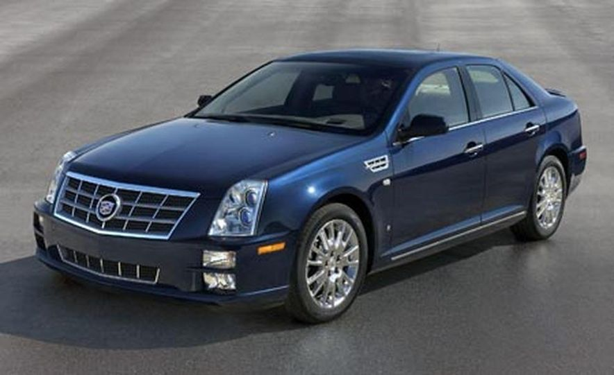 2008 Cadillac STS - Slide 1