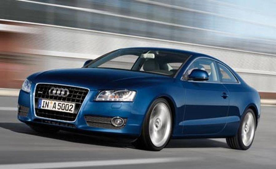 2008 Audi A5 European spec - Slide 1