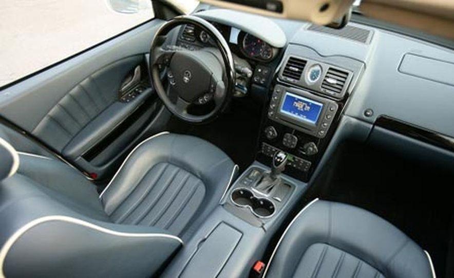 2007 Maserati Quattroporte automatic - Slide 15