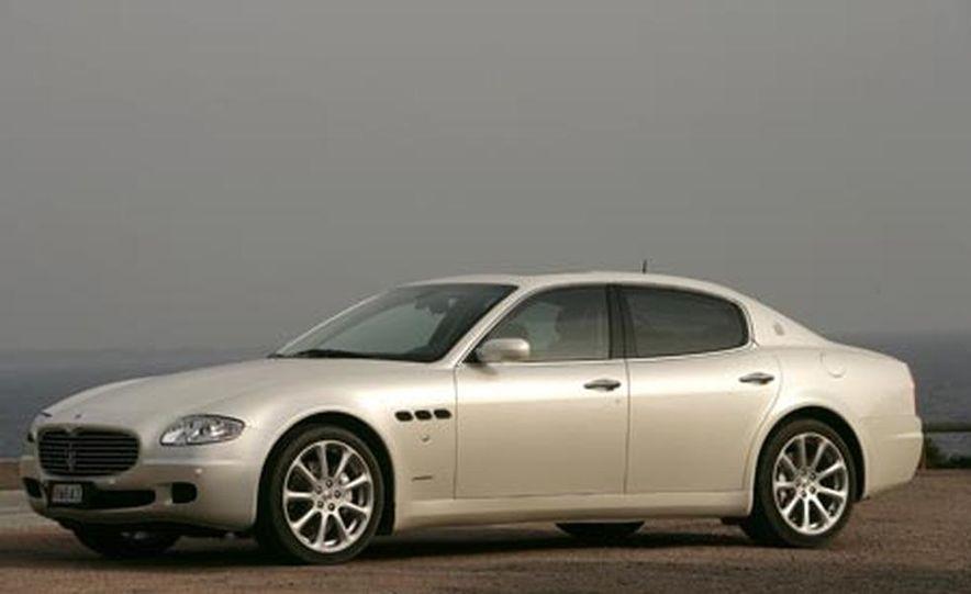 2007 Maserati Quattroporte automatic - Slide 4