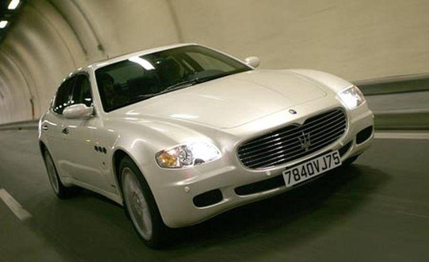 2007 Maserati Quattroporte automatic - Slide 6