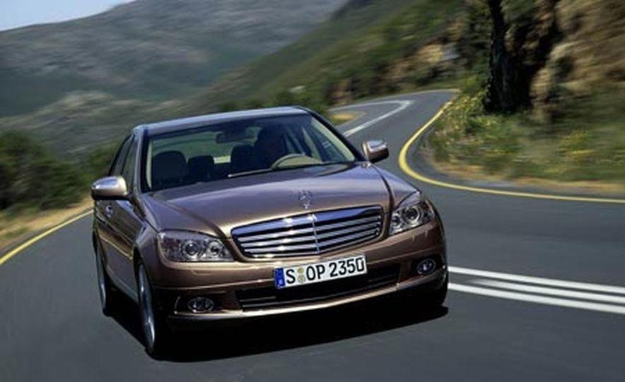 2008 Mercedes-Benz C-class - Slide 1