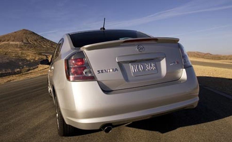2007 Nissan Sentra Se R And Spec V