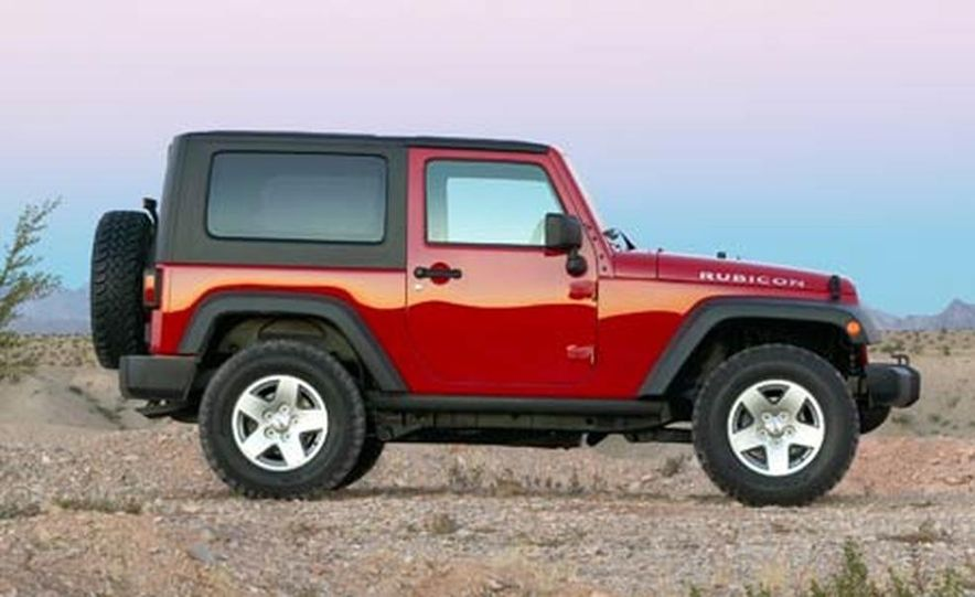 2007 Jeep Wrangler Unlimited 4-Door - Slide 7