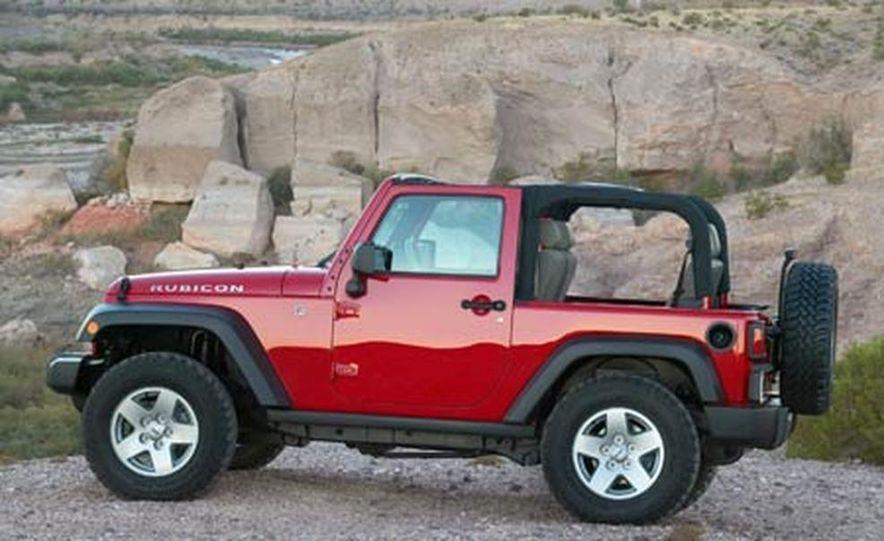 2007 Jeep Wrangler Unlimited 4-Door - Slide 8