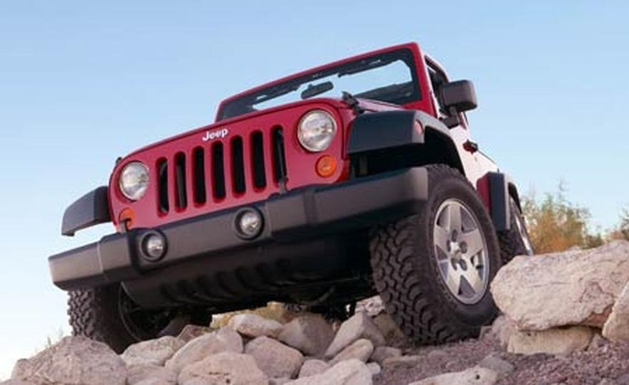 2007 Jeep Wrangler Unlimited 4-Door - Slide 10