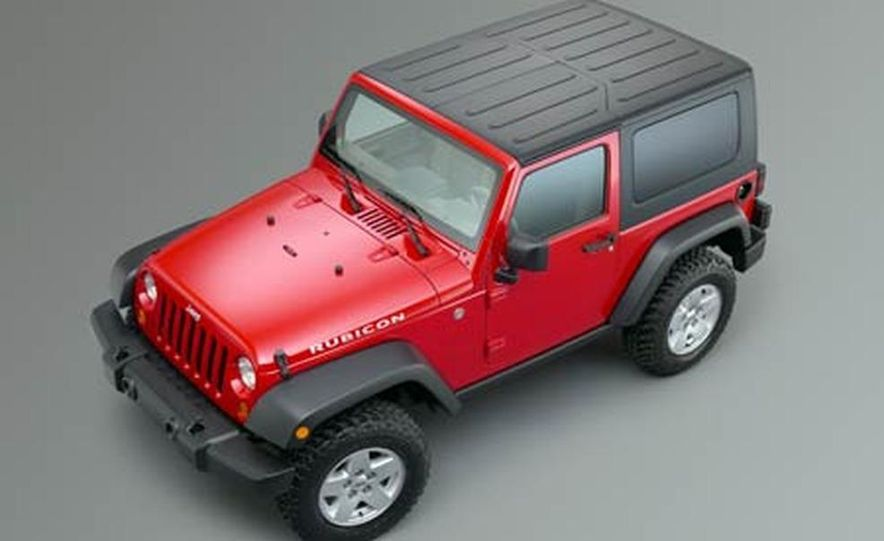 2007 Jeep Wrangler Unlimited 4-Door - Slide 13