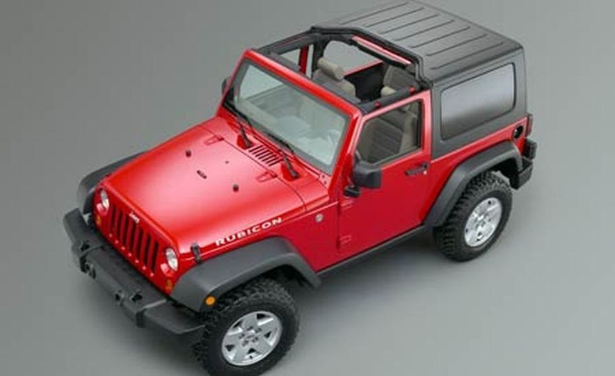 2007 Jeep Wrangler Unlimited 4-Door - Slide 14