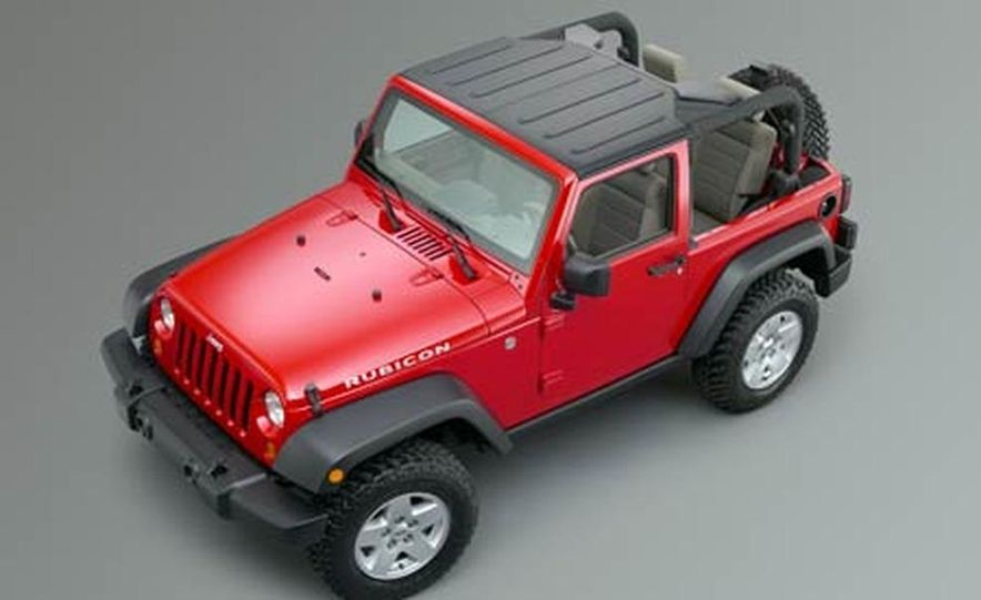 2007 Jeep Wrangler Unlimited 4-Door - Slide 15