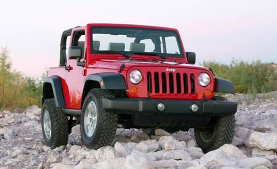 2007 Jeep Wrangler Unlimited 4-Door - Slide 18